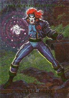 Skullfire 1993 Marvel Masterpieces