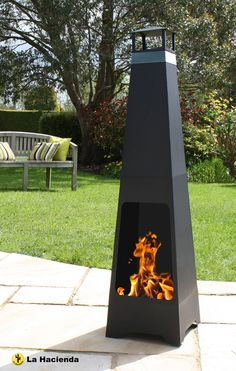 Add a unique feature to your garden with this La Hacienda Chiminea from #Argos