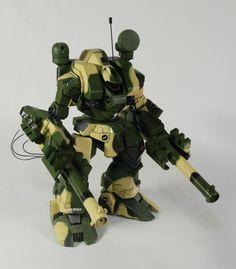 Tomahawk Destroid custom. MBR-04-Mk VI Tomahawk Destroid Robotech Macross