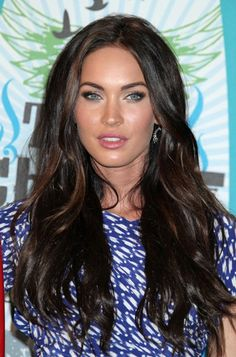Megan Fox Hairstyle - Love The Color.