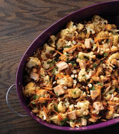 Cauliflower and tuna may seem like an unlikely pair but they work ...