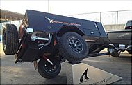 All Terrain Camper Trailers Montrose Colorado, Off Road Trailer For Sale  More camping trailer ideas, aka explorer box, of course I'm not going to build mine quite this tough, lol