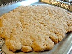 Holy Thursday Unleavened Bread - for Passover story in Exodus Communion Bread Recipe, Unleavened Bread Recipe, Middle Eastern Restaurant, Maundy Thursday, Holy Thursday, Pastry Blender, Holy Week, Breakfast Bake, Food Hacks