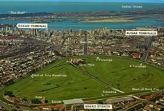 Greyville Race Course, venue of The Durban July.