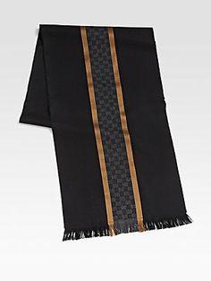 Gucci Silk/Wool Scarf