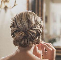 Peinado de mi boda. My wedding hairstyle