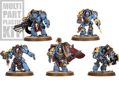 Space Wolves Wolf Guard Terminators  I could use 2-3 of these.
