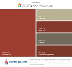 Front Door Paint Color Sw 2906 Crimson Red From Sherwin