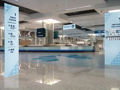 Wayfinding system fot the Portuguese airport Tiberfe.
