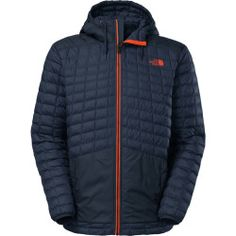 Today Recommend - The North Face Thermoball Snow Hooded Insulated Jacket - Mens Cosmic Blue, XL
