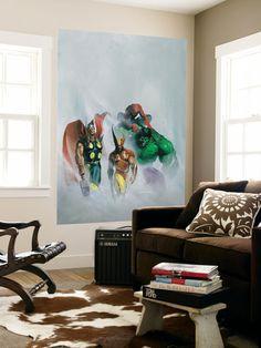 Secret War V1 No.1 Group: Wolverine, Thor, Hulk and Spider-man at Allposters.com at AllPosters.com