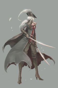 I am in love... Maria of the Clocktower, Bloodborne DLC