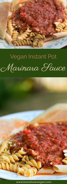 An Instant Pot version of an old favorite. This Vegan Marinara Sauce is so elegant and delicious, your family will surely be impressed. Easy and fast!