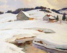 art vermont landscapes | Aldro Hibbard | Art--Landscape Paintings | Pinterest