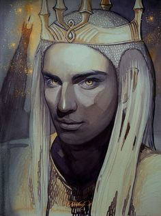 Sauron.  He is identified as the Necromancer mentioned in Tolkien's earlier novel The Hobbit. In Tolkien's The Silmarillion (published posthumously by Tolkien's son Christopher Tolkien), he is also described as the chief lieutenant of the first Dark Lord, Morgoth.