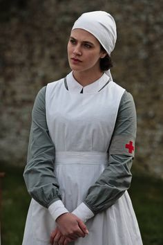 Findlay Brown as Lady Sybil in Downton Abbey