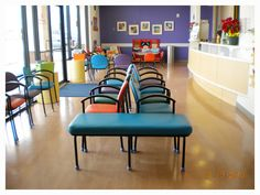Pediatricofficefurniture S Colorful Waiting Room Chairs In Thermoplastics Vinyl And Upholstery