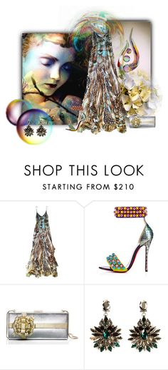 """""""Fragile Glass"""" by neverboring ❤ liked on Polyvore featuring Roberto Cavalli, Kate Spade and Anton Heunis"""