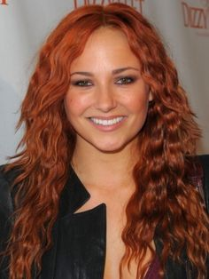 Celebrity Red Hair Color Ideas..maybe I should try this color