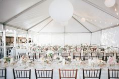 Meghan + Alex // Married » The Mullers THIS TENT! OUTDOOR WEDDING!