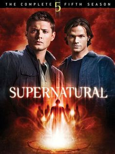 Supernatural Season 5 DVD cover.