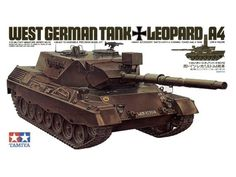 Model Tamiya 35112 West German tank Leopard A4