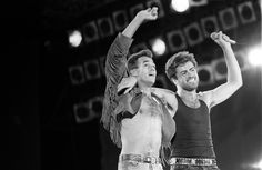 Image: LAST CONCERT BY WHAM, WEMBLEY STADIUM, LONDON, BRITAIN - 28 JUN 1986