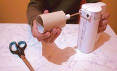 This simple tutorial will show you how to wind up yarn quickly with a hand mixer and a toilet paper roll. Yarn Organization, Toilet Paper Roll, Loom Knitting, Crochet Crafts, Diy Tutorial, Diy And Crafts, Thing 1, Crafty, Ideas