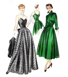 Vintage 1940s Simplicity 3047