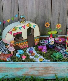 1000 Images About Fairy Garden Trailers On Pinterest