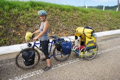 Solo Female Cycling Around the World: WOW (Women On Wheels). Damn ladies. You inspire me, but be careful.