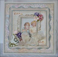 Vintage card. Melissa Frances