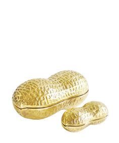 Brass Peanut Box