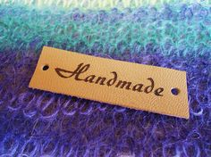 Custom Clothing Labels Leather Labels Knitting Accessories