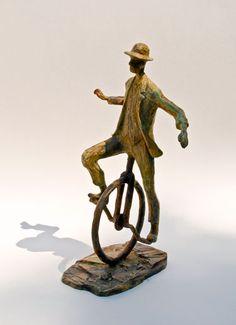Uri Dushy - Works of Art - Bronze Sculptures: Equilibrium