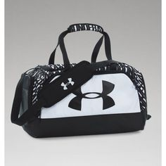 UA Storm Watch Me Duffle ($40) ❤ liked on Polyvore featuring jewelry, watches und unisex watches