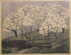 «Eplehage i blomst» (1953)  Frithjof Tidemand-Johannessen. Foto: Kjeld Tidemand