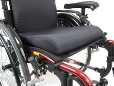 Memory Foam Contoured Wheelchair Seat Cushion 18 in