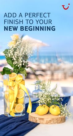 Thomson Weddings gives your big day authentic, memorable touches. Use lemons for centre pieces in Sicily, or coconuts in Jamaica. Click on the pin to find your dream wedding.