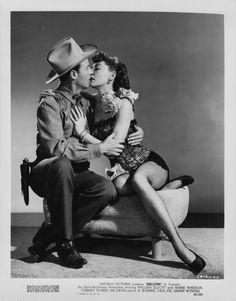 Wild Bill Elliott and Marie Windsor
