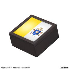 Papal Coat of Arms Jewelry Box
