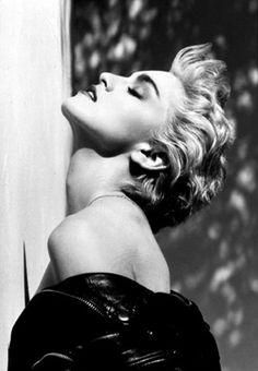 Back when Madonna was trueto her self.Madonna, Hollywood, 1986 by Herb Ritts. Madonna (whom Ritts also photographed…