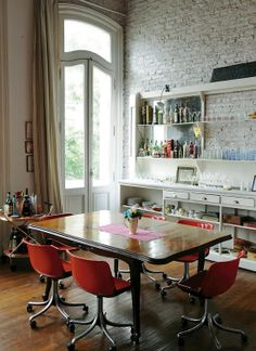 Buenos Aires apartment dining.