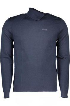 Maglia Uomo Guess Jeans (BO-M63R20Z6F00 G720) colore Blu
