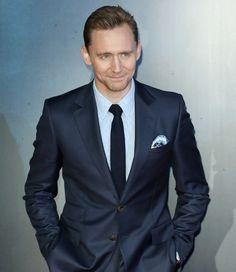 Tom Hiddleston Is Back Where He Belongs. Link: http://www.gq.com/story/tom-hiddleston-gucci-suit-kong-red-carpet/amp