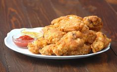 Pollo frito al estilo KFC Big Mac, Mcdonalds, Pizza Barbacoa, Pollo Kfc, Cauliflower, Chicken Recipes, Vegetables, Food, Salads