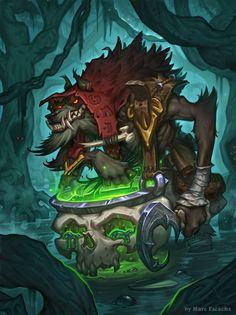 Swampy Worgen by Escachx on DeviantArt World Of Warcraft Characters, Fantasy Characters, Game Character Design, Character Art, Fantasy Creatures, Mythical Creatures, Werewolf Art, Nature Sketch, Warcraft Art