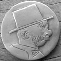 "BILL ""BILLZACH"" JAMESON HOBO NICKEL - NO DATE BUFFALO PROFILE Hobo Nickel, Buffalo, Coins, Carving, Profile, User Profile, Rooms, Wood Carvings, Sculptures"