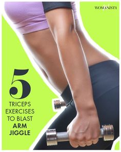 Do we all agree that arm jiggle is one of the worst trouble areas ever? Add these 5 sculpting moves for your triceps, replace it with long, lean muscles that give your arm some gorgeous definition. Womanista.com