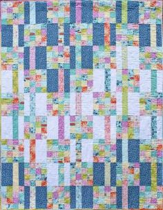 Meander - a quilt pattern designed by Kate Collleran